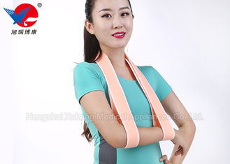 China Pink Easy Wear Medical Arm Sling , Child Arm Sling For Rotator Cuff Surgery supplier