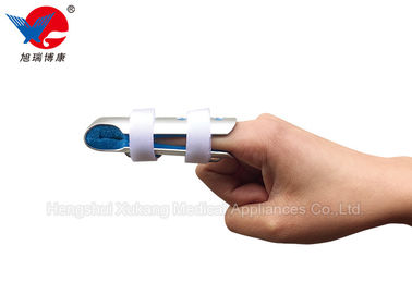 China Lightweight Protective Hand Finger Splint , Blue And White Trigger Finger Splint supplier