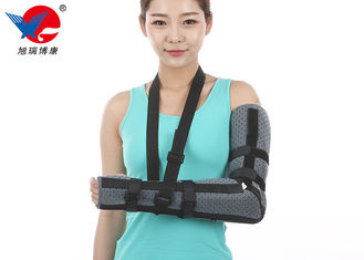 China Breathable Soft Elbow Support Brace , Good Air Permeability Adjustable Elbow Support supplier