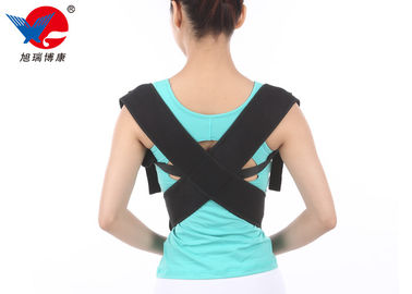 China Breathable Women's Posture Support Brace Soft With High Elastic Nylon Fiber Cloth supplier