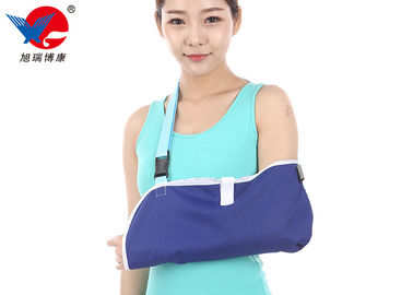China Mesh Cloth Forearm Medical Arm Sling , Blue Color Arm Slings For Shoulder Surgery supplier