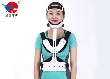 China High Durability Comfortable Medical Orthosis , White And Black Lumbar Support Orthosis supplier