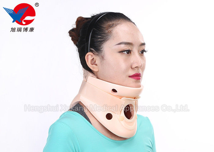 Lightweight Soft Foam Orthopedic Neck Collar Two Pieces Design Enhance Patients' Comfort