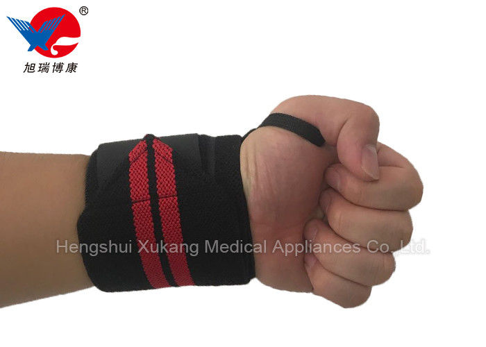 Comfortable Workout Wrist Support Flexible With High Elasticity Polyester Material