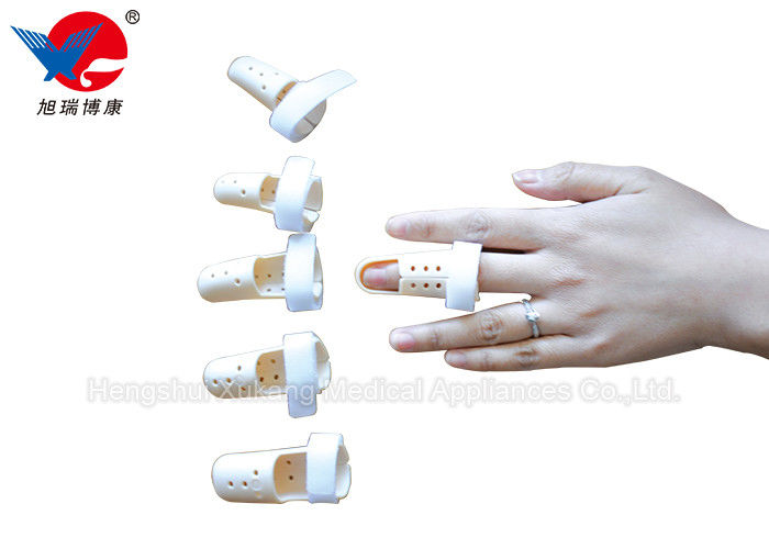 Lightweight Easy Wear Hand Finger Splint , High Durability Soft Middle Finger Splint