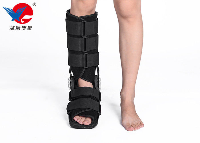 High Strength Surgical Broken Ankle Support Boot Multifunctional For Severe Ankle Sprains
