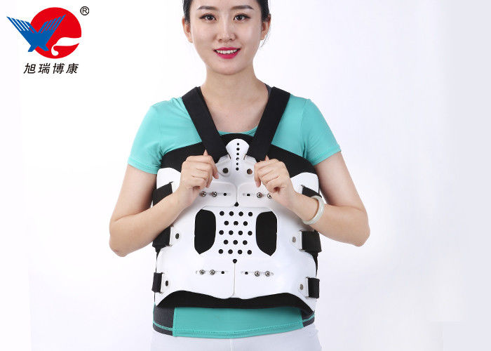 Flexible Plastic Plate Medical Orthosis , Lightweight Free Size Lumbar Spine Orthosis