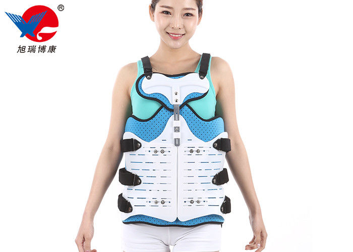 Flannel And PVC Thoracic Lumbar Sacral Orthosis Brace For