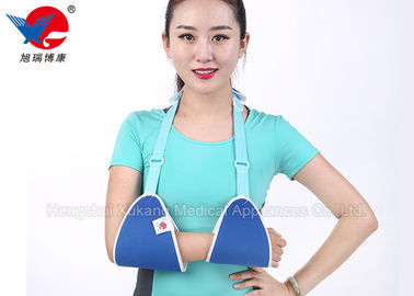 China Triangle XL Arm Sling Shoulder Immobilizer Air Permeable Prevent Limb Swelling distributor