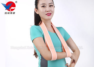 China Pink Easy Wear Medical Arm Sling , Child Arm Sling For Rotator Cuff Surgery distributor