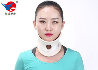 China Hospital Cervical Neck Collar Support White Universal Size For Most Men And Women distributor