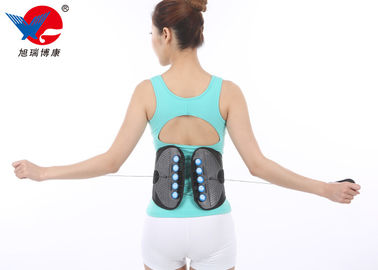 China Outdoor Black Waist Support Brace , Medical Orthopedic Back Brace With CE FDA distributor