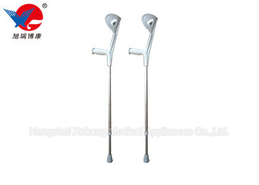 China Metal Color Medical Walking Crutches , S / M  / L Size Adjustable Elbow Crutches distributor