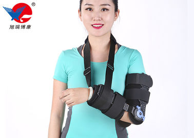 China Black Medical Elbow Orthosis S Size Light Weight Design For Patient Comfort distributor