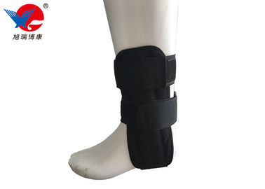China Great Ventilation Ankle Support Brace , Adjustable Plastic Plastic Ankle Brace distributor