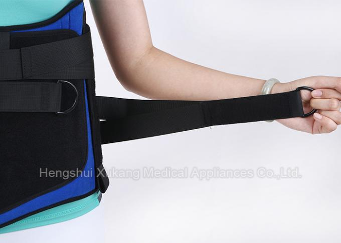 Reusable Waist Support Brace High Supporting Strength For Lumbar Muscle Strain