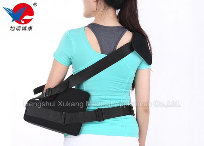 High Durability Dislocated Shoulder Brace Sports Sponge And Flannel Material With Pad