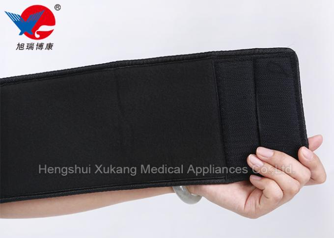 XL / XXL Black Medical Arm Sling , Durable Adjustable Arm Sling With CE FDA