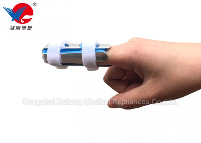 Comfortable Hand Finger Splint , Aluminum Foam Finger Splint For Hand Rehabilitation