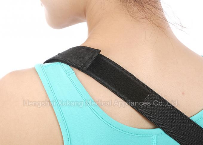 Mesh Cloth Forearm Medical Arm Sling , Blue Color Arm Slings For Shoulder Surgery