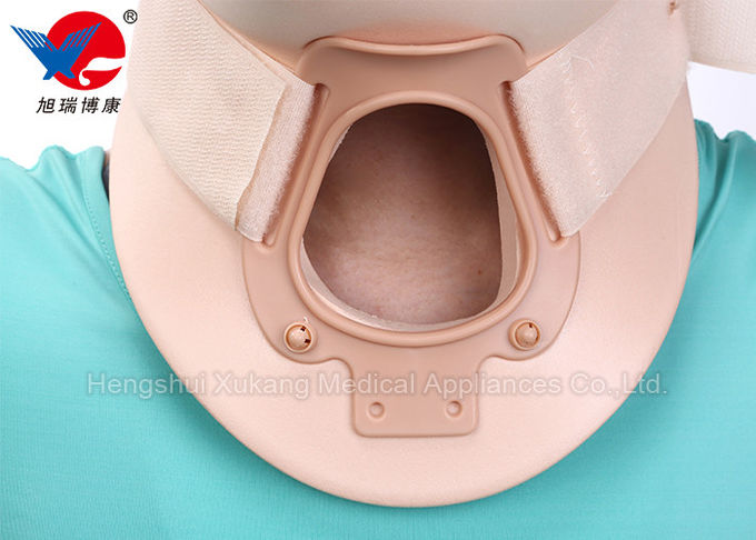 Comfortable Cervical Collar Neck Brace Restrict Head To Immobilize The Cervical Spine