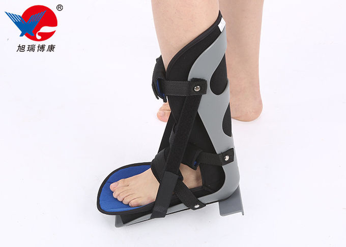 Plantar Fasciitis Gray Ankle Support Brace High Supporting Strength Wear Resistant
