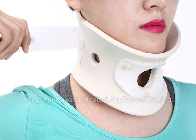 Hospital Cervical Neck Collar Support White Universal Size For Most Men And Women