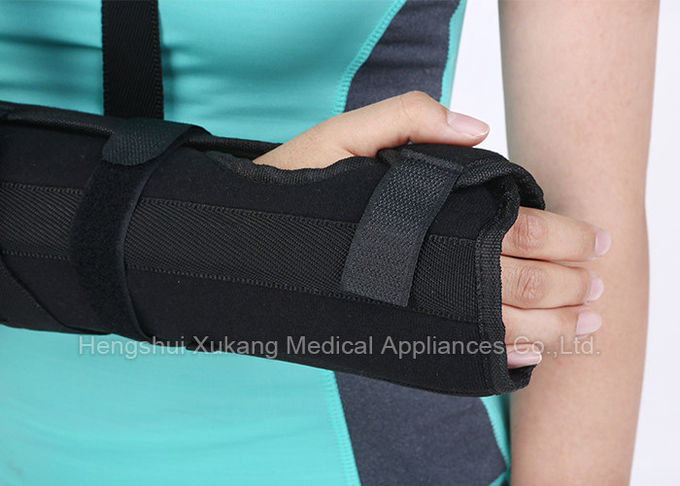Good Ventilation Functional Forearm Brace One Touch Adjustment With Telescopic Length