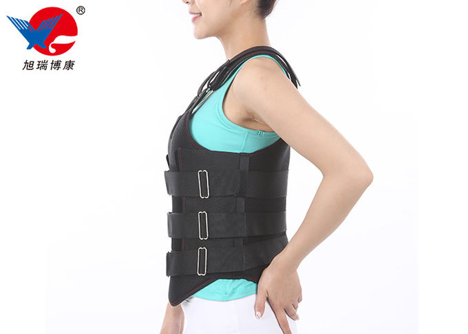 S / M / L Optional Lumbar Support Orthosis Effectively Increase Abdominal Pressure